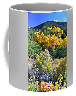 Coffee Mug featuring the photograph Autumn In The Canyon by Ron Cline