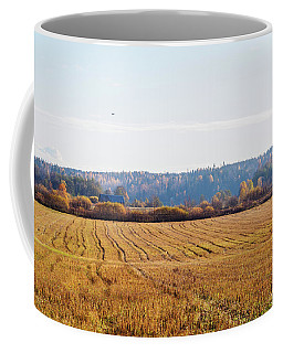 Autumn In The Countryside Coffee Mug