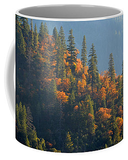 Coffee Mug featuring the photograph Autumn In The Feather River Canyon by AJ Schibig