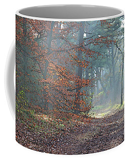 Autumn In The Forest, Painting Like Photograph Coffee Mug
