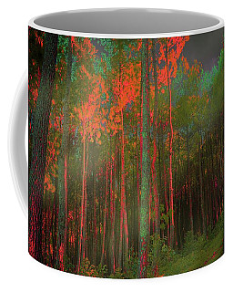 Autumn In The Magic Forest Coffee Mug by Mimulux patricia no No