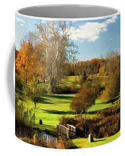 Autumn In The Park Coffee Mug