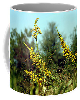 Autumn In The Wind Coffee Mug by Debra Forand