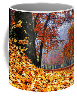 Autumn In The Woodland Coffee Mug