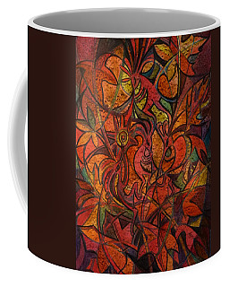 Autumn Kokopelli Coffee Mug