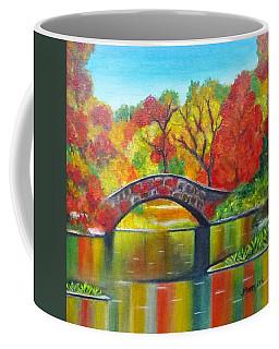 Autumn Landscape -colors Of Fall Coffee Mug