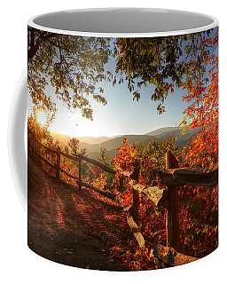 Autumn Landscape From Cataloochee In The Great Smoky Mountains National Park Coffee Mug