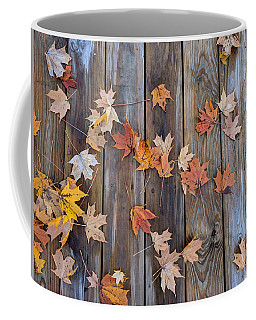 Autumn Leaves Fall Coffee Mug