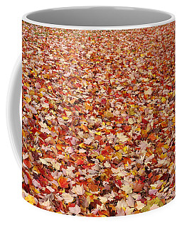 Autumn Leaves Coffee Mug by Marilyn Wilson