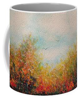 Autumn Leaves Coffee Mug by Natalie Holland