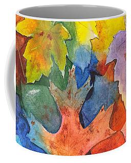 Autumn Leaves Recycled Coffee Mug