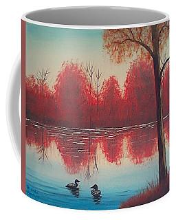 Autumn Loons Coffee Mug