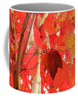 Autumn Maple Coffee Mug by Kathy Bassett