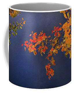 Coffee Mug featuring the photograph Autumn Matinee by Theresa Tahara