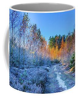 Autumn Meets Winter Coffee Mug