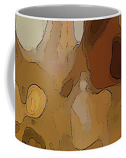 Coffee Mug featuring the digital art Autumn Melange by Gina Harrison