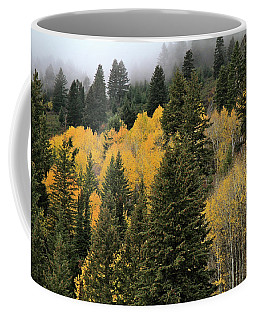Autumn Mist, Owyhee Mountains Coffee Mug