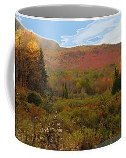 Autumn  Moose Bog Coffee Mug