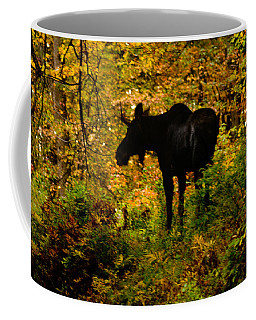 Autumn Moose Coffee Mug