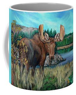 Autumn Moose Coffee Mug