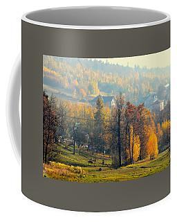 Autumn Morning Coffee Mug by Henryk Gorecki