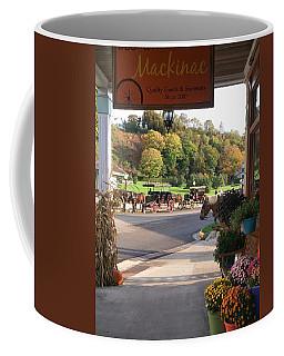 Autumn Morning On Mackinac Island Coffee Mug