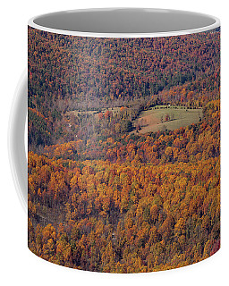Autumn Mountain Side Coffee Mug