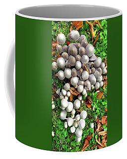 Autumn Mushrooms Coffee Mug by Nareeta Martin