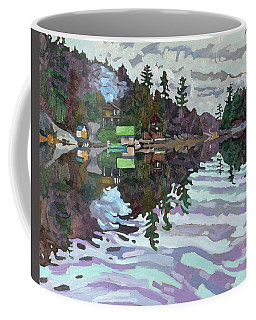Autumn Narrows Coffee Mug