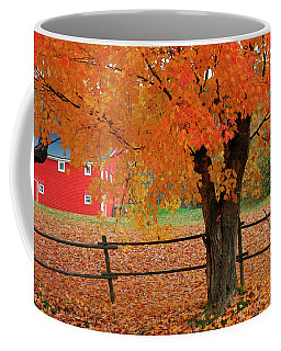 Autumn Near New Germany, Nova Scotia Coffee Mug