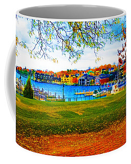 Autumn On Lake Charlevoix Coffee Mug