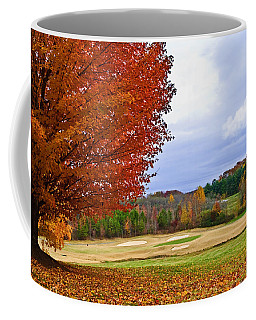 Autumn On The Golf Course Coffee Mug