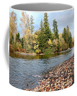 Autumn On The Molalla Coffee Mug
