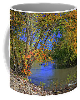 Autumn On The North Raccoon Coffee Mug