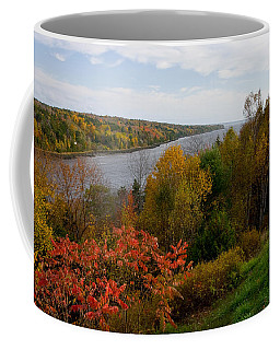 Autumn On The Penobscot Coffee Mug