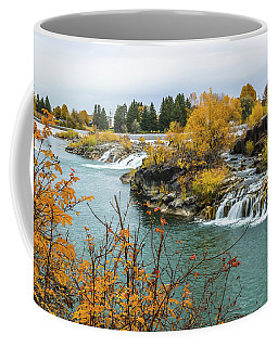 Autumn On The Snake River Coffee Mug by Yeates Photography
