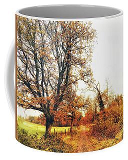 Autumn On White Coffee Mug