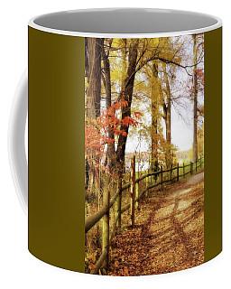 Autumn Pathway Coffee Mug
