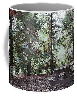 Autumn Picnic In The Woods  Coffee Mug