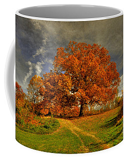 Autumn Picnic On The Hill Coffee Mug