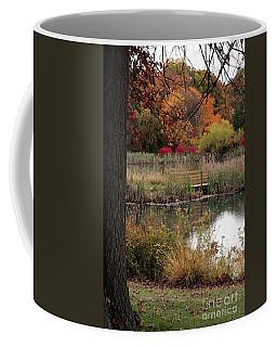 Autumn Pond In Maryland Coffee Mug