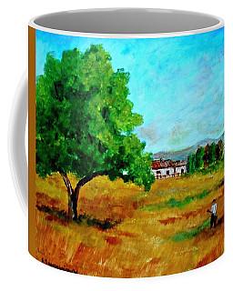 Autumn Preparing Coffee Mug