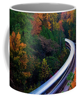 Autumn Rails Coffee Mug