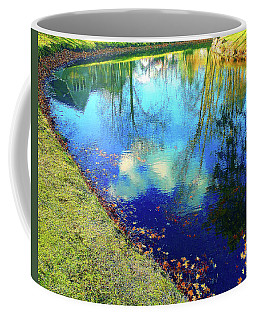 Autumn Reflection Pond Coffee Mug