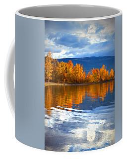 Autumn Reflections At Sunoka Coffee Mug