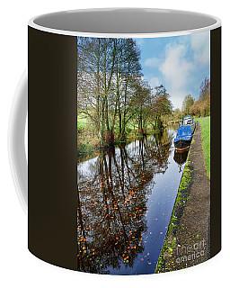 Autumn Reflections On  The Leeds Liverpool Canal Coffee Mug