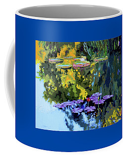 Autumn Reflections On The Pond Coffee Mug