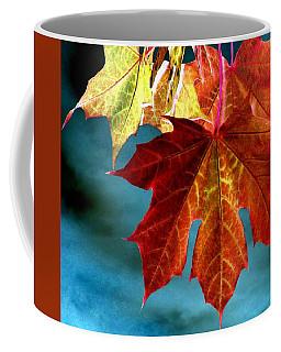Coffee Mug featuring the photograph Autumn Regalia by Will Borden
