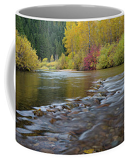 Autumn Ripples Coffee Mug