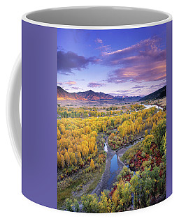 Autumn River View Coffee Mug
